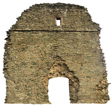 Ruin, Heiling Church, Wirsberg, Pilgrimage Church