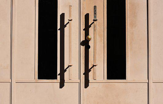 Door, House, Wood, Doorway, Architecture, Minimal