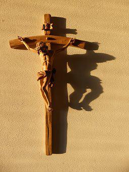 Cross, Jesus Christ, Shadow, Human, Redemption