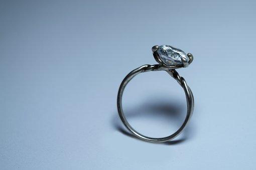 Ring, Jewel, Diamond, Silver, Commitment, Jewelry