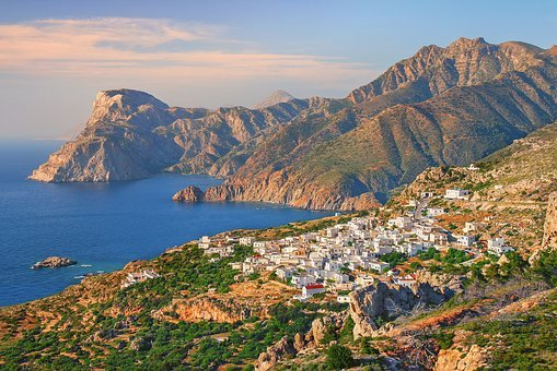 Panorama, Nature, Sea, Travel, Landscape, Karpathos