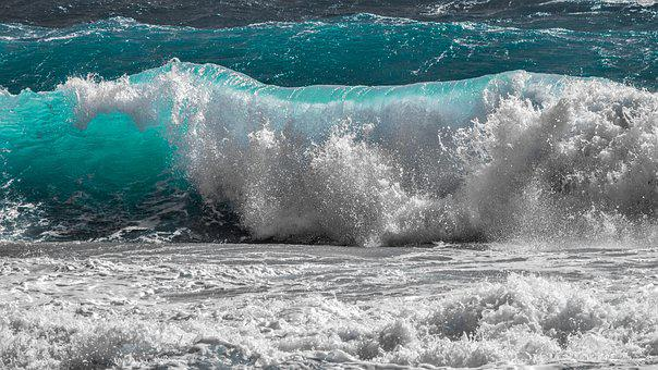Wave, Water, Sea, Nature, Ocean, Surf, Spray, Foam