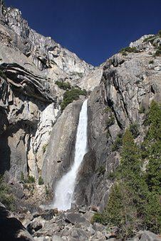 Nature, Rock, Landscape, Mountain, Travel, Yosemite