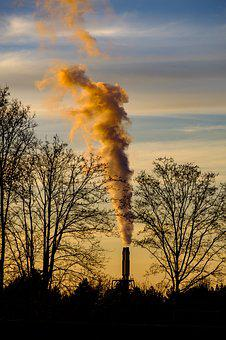 Smoke, Exhaust Gases, Environment, Pollution