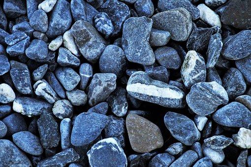 Gray, Rock, Stone, Texture, Model, Closeup, Harsh