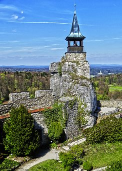Tower, Castle, Donjon, Stone Wall, Outlook, Middle Ages
