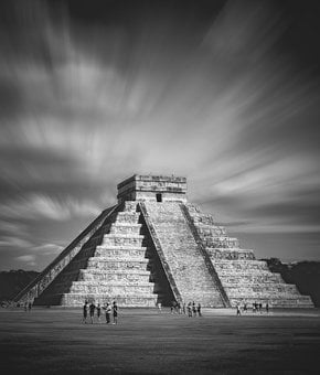 Chichen Itza, Mexico, Pyramid, The Mayans, Archaeology