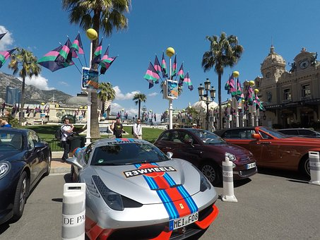 Travel, Street, City, Road, Car, Monaco, French Riviera