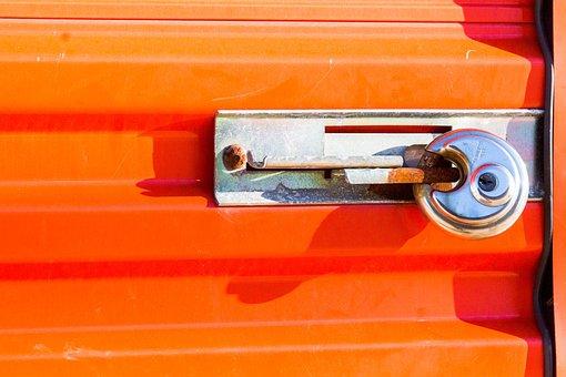 Lock, Security, Door, Handle, Wood