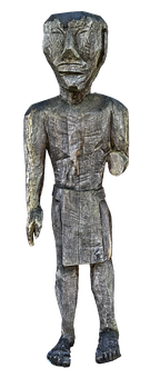 Sculpture, Holzfigur, Man, African, Male, Wood Carving