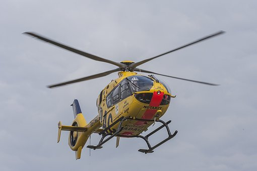Rescue Helicopter, Start, Ambulance Service