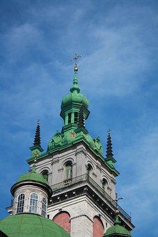 Architecture, Travel, Sky, Building, Church, Ukraine