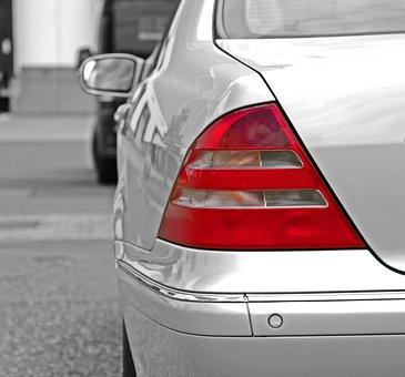 Auto, Mercedes, Back Light, Brake Light