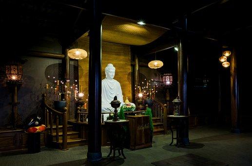 Temple, Buddha, Vietnam, Architecture, Buddhism