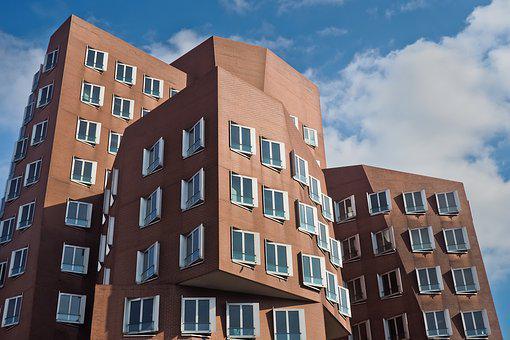Architecture, Facade, Window, Building, Sky, City