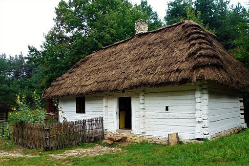 Building, Poland, House, Wood, Rustic, Old Village