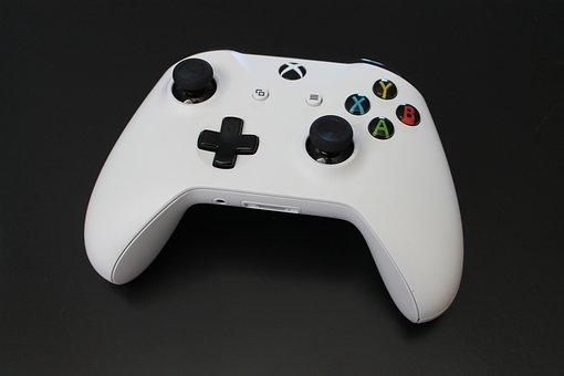 Xbox, Console, Video Games, Controller, Button