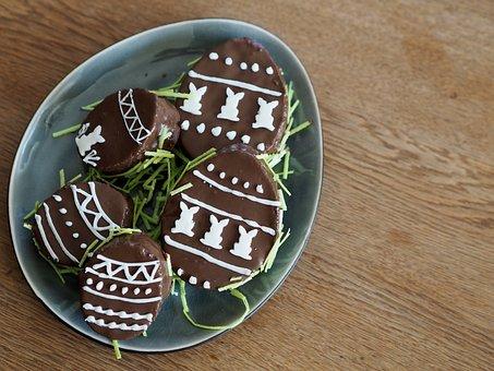 Food, Chocolate, Bake, Easter, Easter Bunny, Nibble