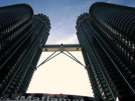 Architecture, City, Skyscraper, Building, Construction