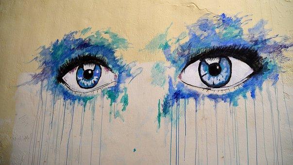 Eyes Grafiti, Eye, Staring At