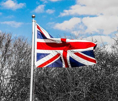 Flag, Wind, Banner, Pole, Country
