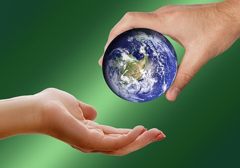 World, Earth, Globe, Keep, Give, Take, Pass, Ball