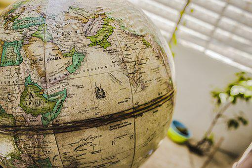 Map, Topography, Geography, Planet, Continents, Earth