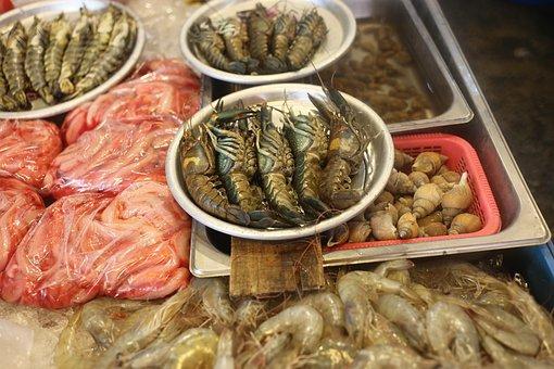Food, Seafood, Fish, Epicure, Market, Lobster