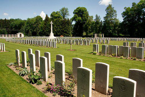 Cemetery, Grave, Tombstone, Grass, Memorial, Funeral