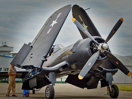 Aircraft, Airport, Military, Propeller, Fly, Wing