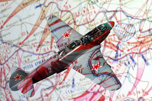 Cards, Military, Plane, Model, The Second World, War