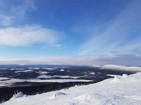Snow, Winter, No One, Nature