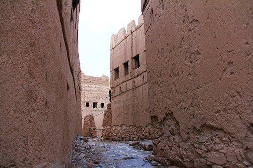 Al Hamra, Nizwa, Oman, Old, 400-year, Village