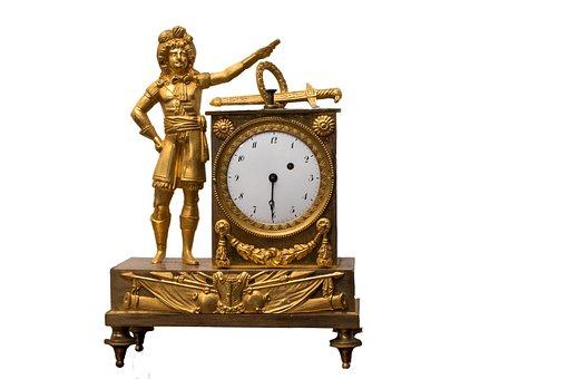 Old, Clock, Antique, Retro, Classic, Art