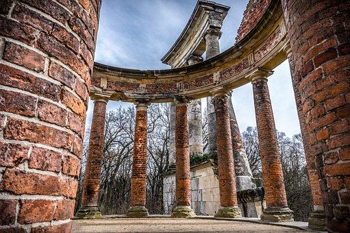 Architecture, Old, Antiquity, Pillar, Ruins, Ruinenberg