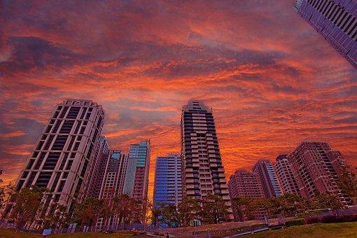 City, Building, Skyscraper, Skyline, Cityscape, Sky