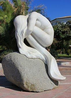 Sculpture, Statue, Travel, Art, Stone, Summer, Ease