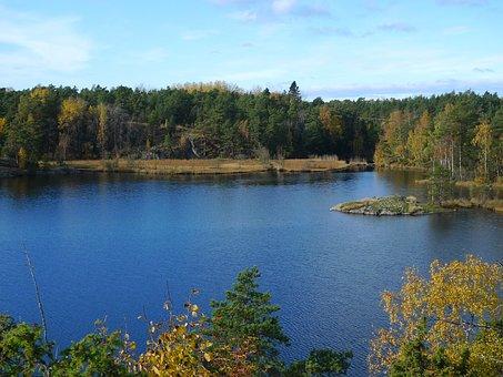 Water, Nature, Lake, Reflection, Landscape, Autumn