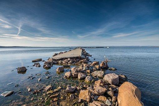 Water, Sea, Seashore, Sky, Rock, Beach, Travel, Nature
