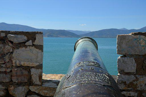 Gun, Middle Ages, Fortress, Historically, Old, Weapon
