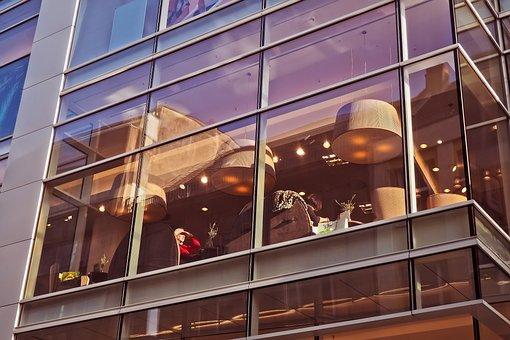 Glass, Modern, Window, Architecture, Reflection