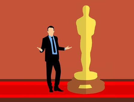 Red Carpet, Oscar, Academy, Award, Flat, Winning
