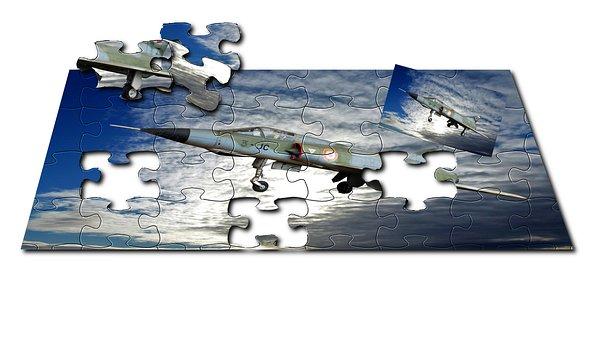 Texture, Puzzle, Aircraft, Reaction, Aircraft Flight