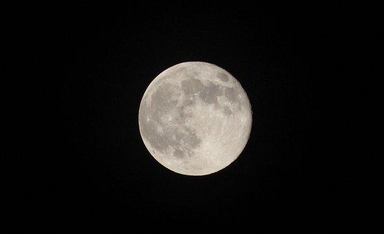 Moon, Astronomy, Lunar, Luna, Crater