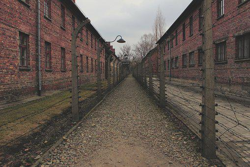Old, Brick, Street, Architecture, Outdoors, Auschwitz