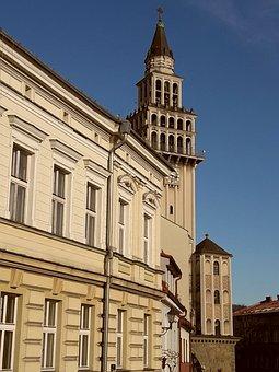 Bielsko-biała, Beskids, Silesia, Poland, The Old Town