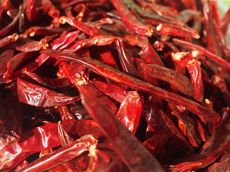 Chilli, Dried Peppers, Chili