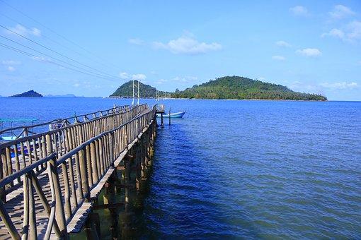 Chumphon Sea, Koh Chumphon, Sea Thailand