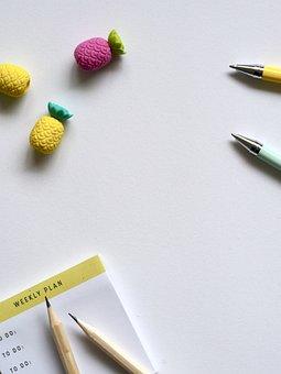 Desktop, Business, Paper, Draw, Create, Office, Desk