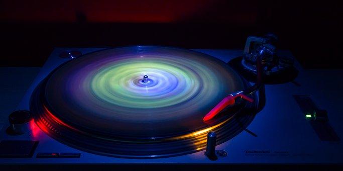 Round, Vinyl Record, Entertainment, Turntable, Ripple